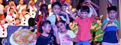 Group photo from Christmas production at St. Andrews Sathorn International School Bangkok